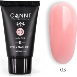Canni Poly Nail Gel 03 Jelly Pink 45gr