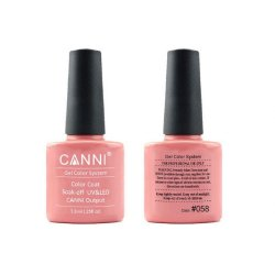 Canni Gel Color System 058 Nude Pink 7.3ml