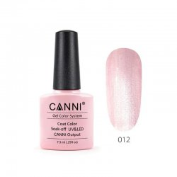 Canni Gel Color System 012 Mother Of Pearl Cream 7.3ml