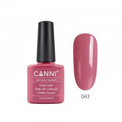 Canni Gel Color System 043 Rich Pale Pink 7.3ml