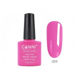 Canni Gel Color System 059 Fluorescent Pink 7.3ml