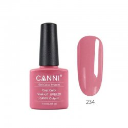 Canni Gel Color System 234 Milky Pink 7.3ml
