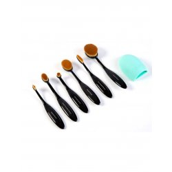 London Pride Cosmetics Multi-Purpose Oval Makeup Brush Set