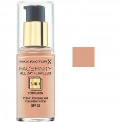 Max Factor Facefinity All Day Flawless 3 In 1 45 Warm Almond 30ml