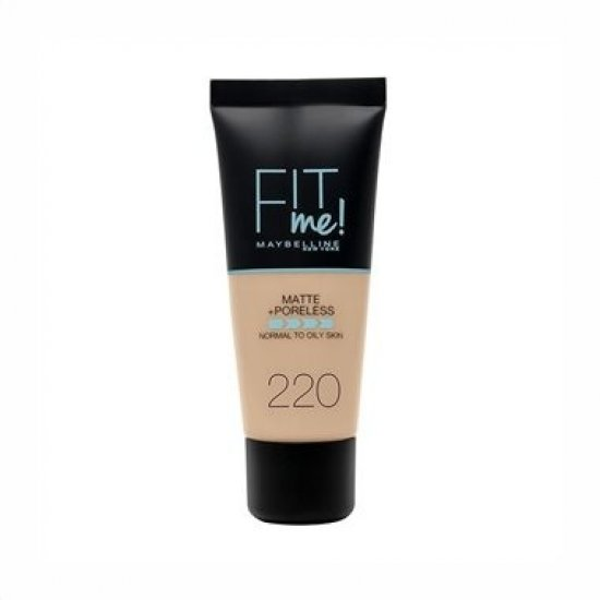 Maybelline New York Fit Me Matte & Poreless Foundation 220 Natural Beige 30ml