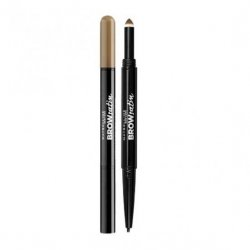 Maybelline Brow Satin Duo-Brow Μολύβι Φρυδιών Brunette Καφέ 8ml