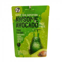 W7 Cosmetics Super Skin Superfood Awesome Avocado Face Mask 18gr