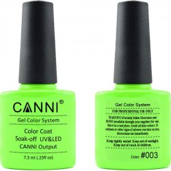 Canni Gel Color System 003 Neon Lime 7.3ml